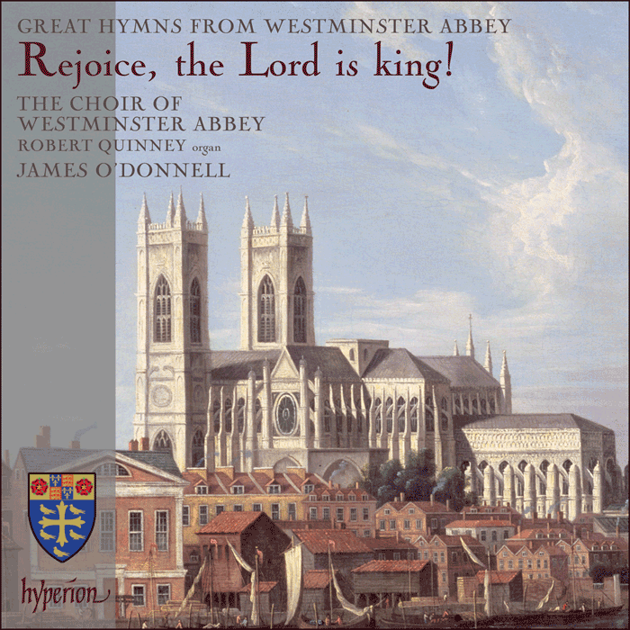 Rejoice the Lord is King CD Cover