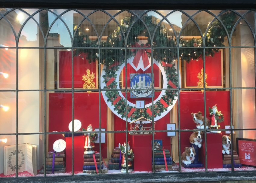 Twelve Days of Christmas Window One