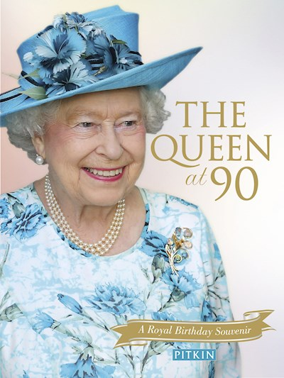 The Queen at 90 Front Cover