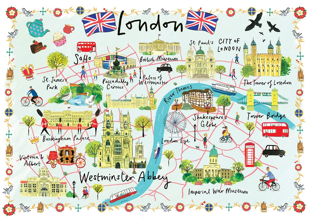 Clair Rossiter London Map
