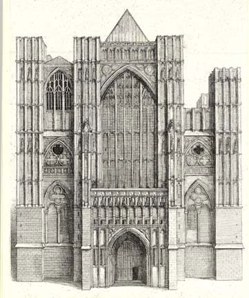 West Towers c1600s
