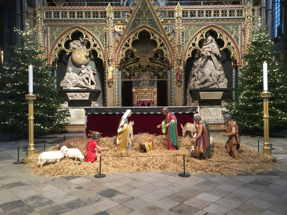 Westminster Abbey Crib