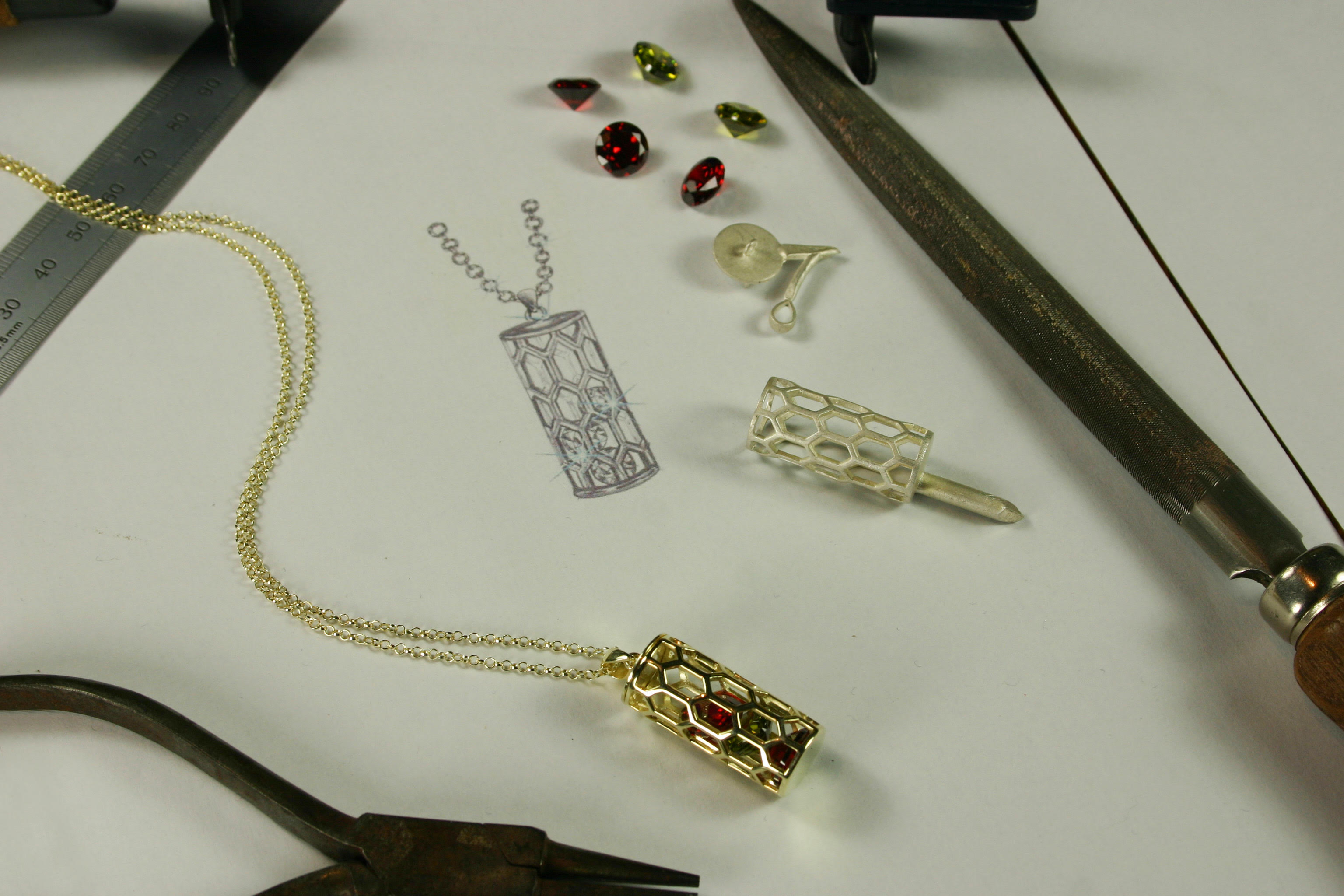 Jewellery Design Process for Henry VII Chantry Pieces