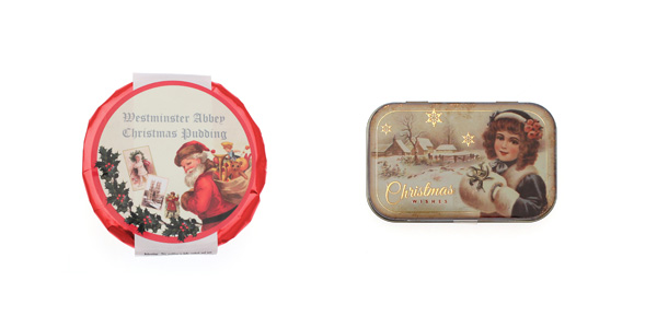 Vintage Themed Christmas Food