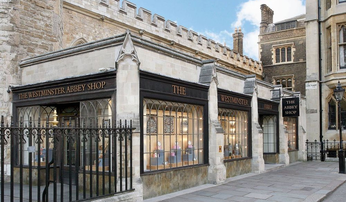 Westminster Abbey shop building